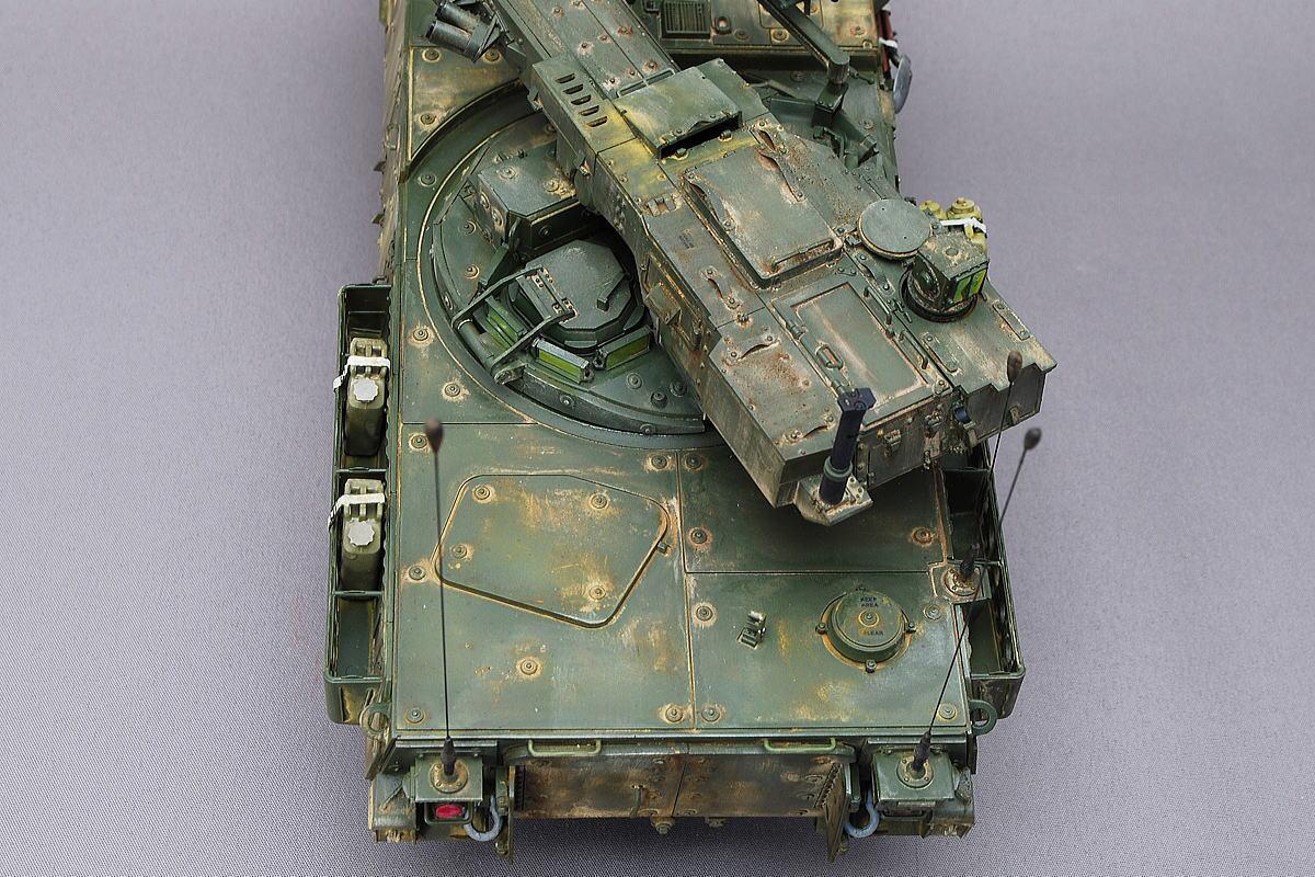 M1128 MGSストライカー AFVクラブ 1/35 完成写真 砲塔はスムースに回転