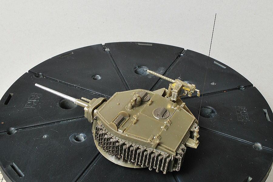 M5A1 スチュアート AFVクラブ 1/35 砲塔後部アンテナ