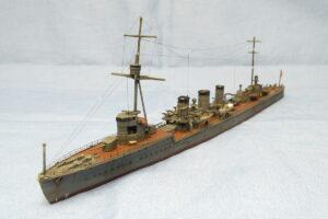 軽巡洋艦 天龍1942年 ハセガワ 1/700 完成写真