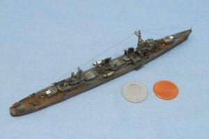 駆逐艦浦風 1944年 フジミ 1/700 完成写真