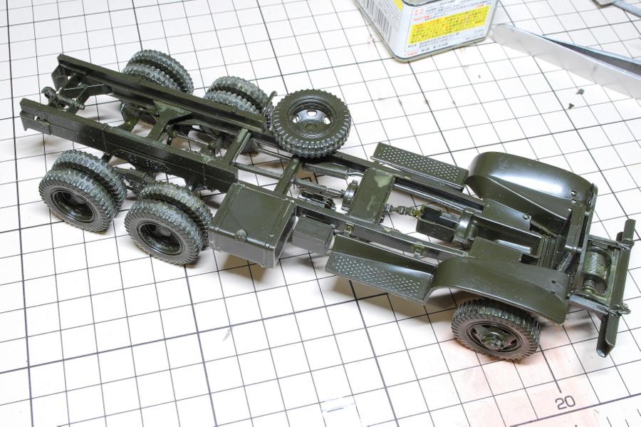 2.5トン カーゴトラック 6 x 6 イタレリ 1/35 スペアタイヤ