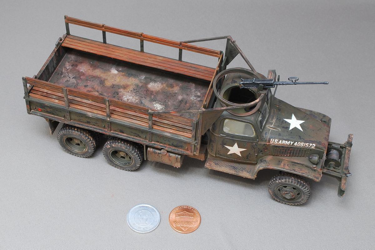 2.5トン カーゴトラック 6 x 6 イタレリ 1/35 第二次大戦中に米国で生産された2.5tトラック