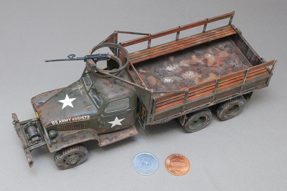 2.5トン カーゴトラック 6 x 6 イタレリ 1/35 完成写真 米国で一般的な名前の「ジミー」の愛称