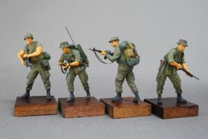 アメリカ軍歩兵 ベトナム戦 ジャングルパトロール マスターボックス 1/35 完成写真