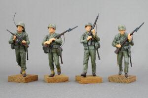 アメリカ海兵隊 ジャングル戦 第二次世界大戦 マスターボックス 1/35 完成写真