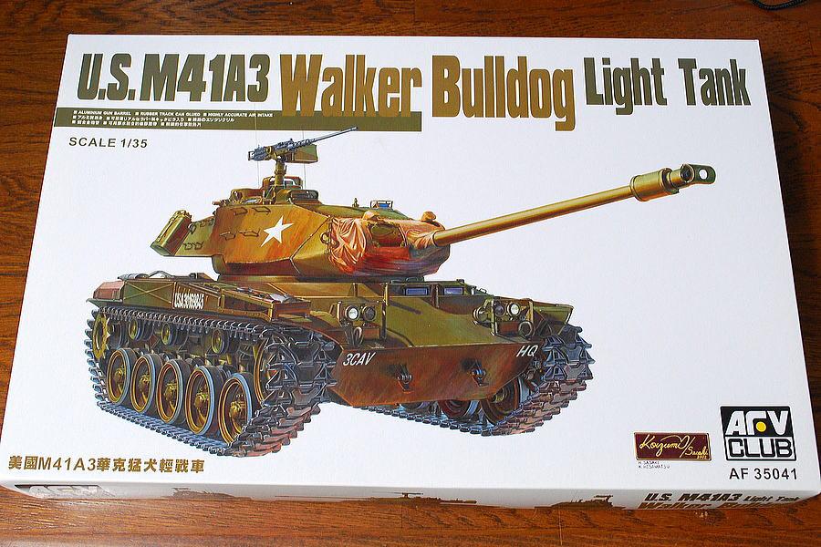 M41A3 ウォーカー・ブルドッグ AFVクラブ 1/35 箱絵 ボックスアート