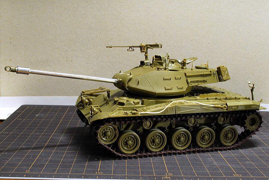 M41A3 ウォーカー・ブルドッグ AFVクラブ 1/35 アルミ砲身