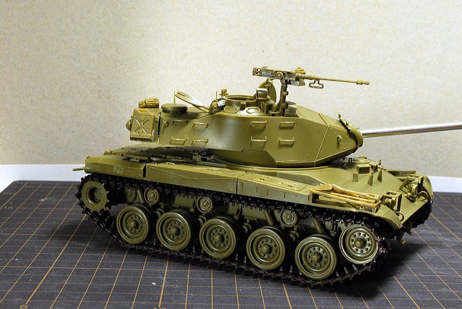 M41A3 ウォーカー・ブルドッグ AFVクラブ 1/35 塗装