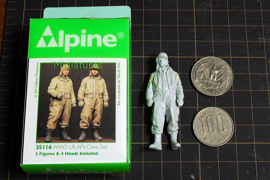 アルパイン レジンフィギュア アメリカ軍戦車兵