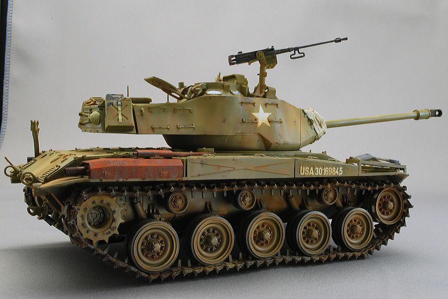 M41A3 ウォーカー・ブルドッグ AFVクラブ 1/35 完成写真 1956年西ドイツにおける米軍第1機甲旅団