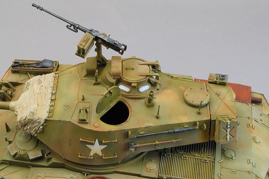 M41A3 ウォーカー・ブルドッグ AFVクラブ 1/35 完成写真 砲塔