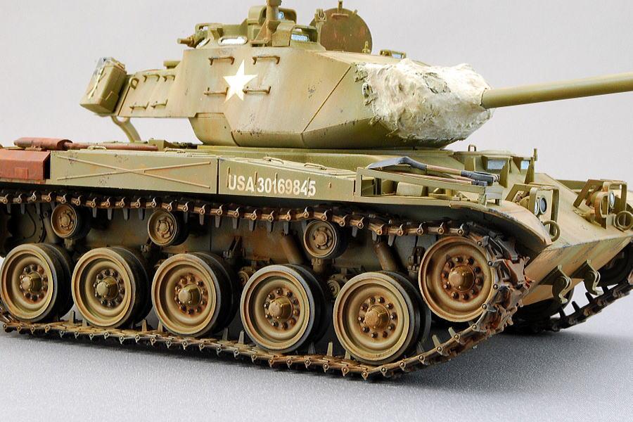 M41A3 ウォーカー・ブルドッグ AFVクラブ 1/35 完成写真