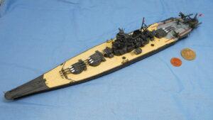 戦艦大和 1941 就役時 フジミ 1/700 完成写真