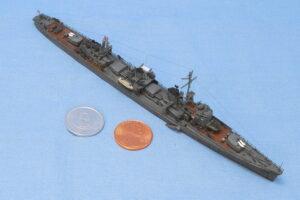 駆逐艦 雪風 1945年 フジミ 1/700 組立と塗装・製作記・完成写真