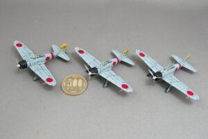 零戦21型 空母・赤城戦闘機隊 (ハワイ・真珠湾攻撃)スウィート 1/144 完成写真